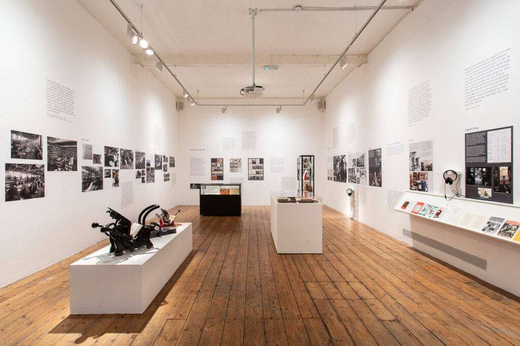 Exhibition installation view