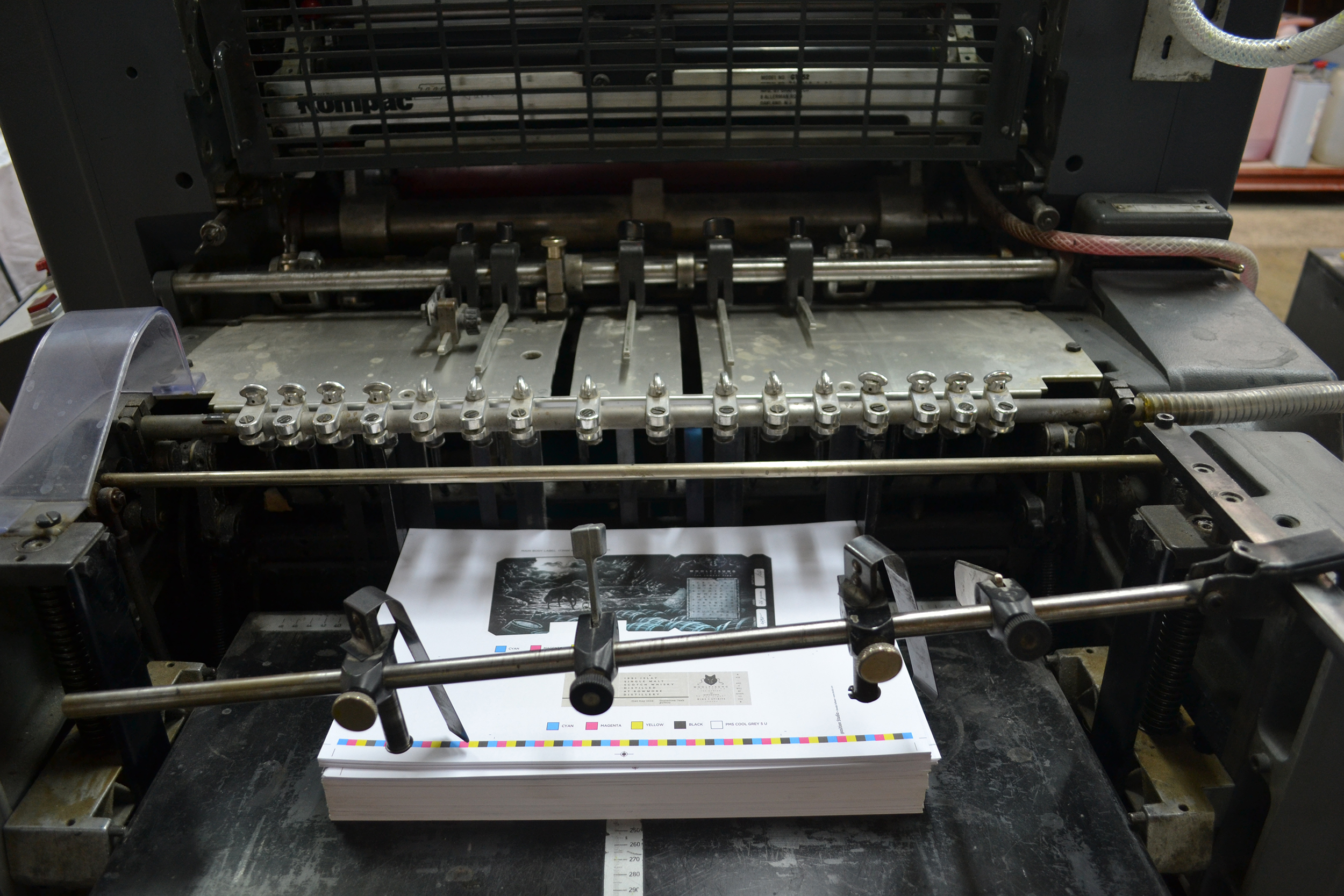 Photo of printing machinery