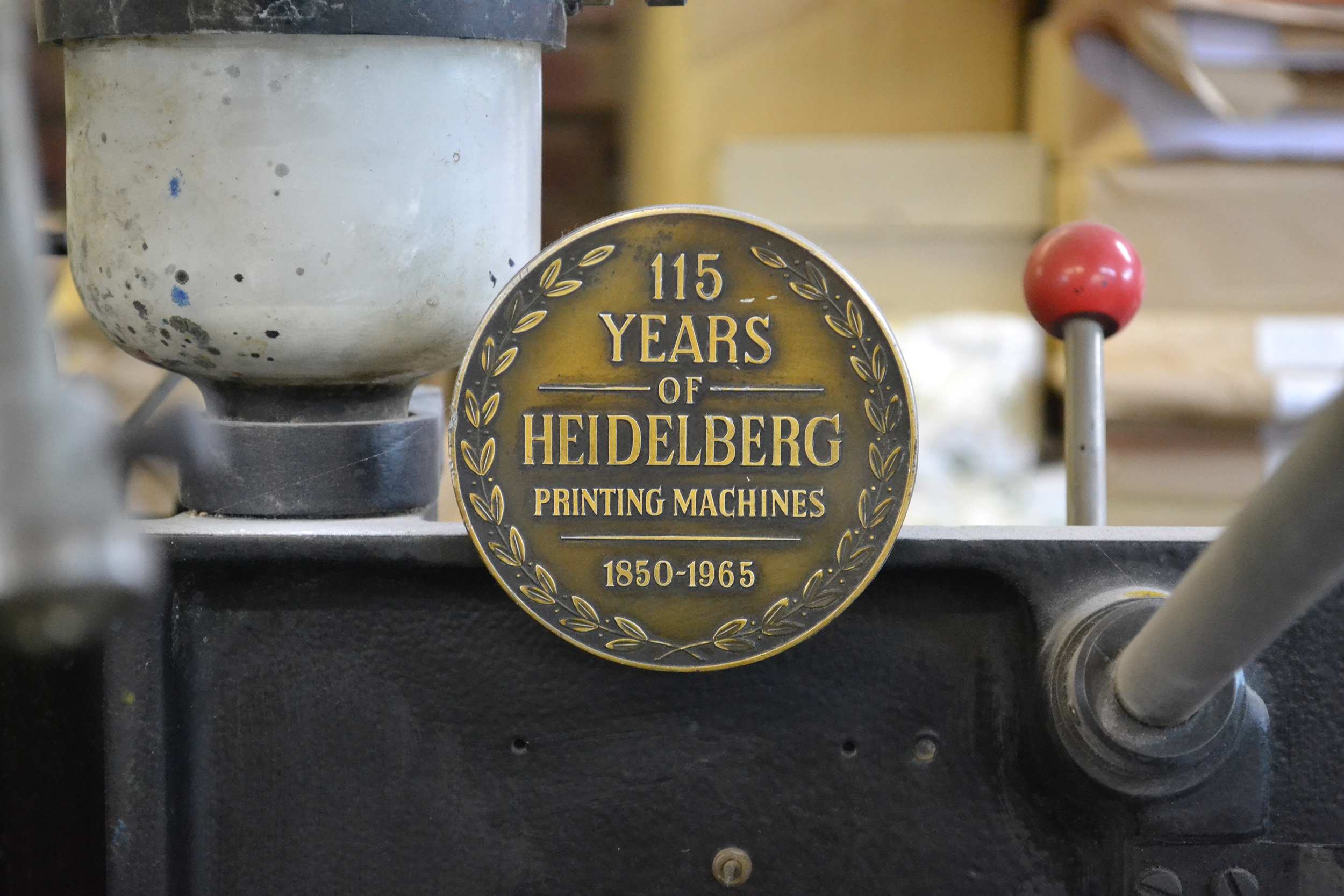 Photo of Heidelberg press