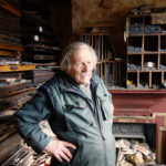 Gary Arber in his workshop