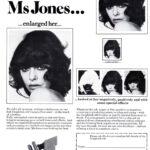 Printed page 'We took our Ms Jones...'