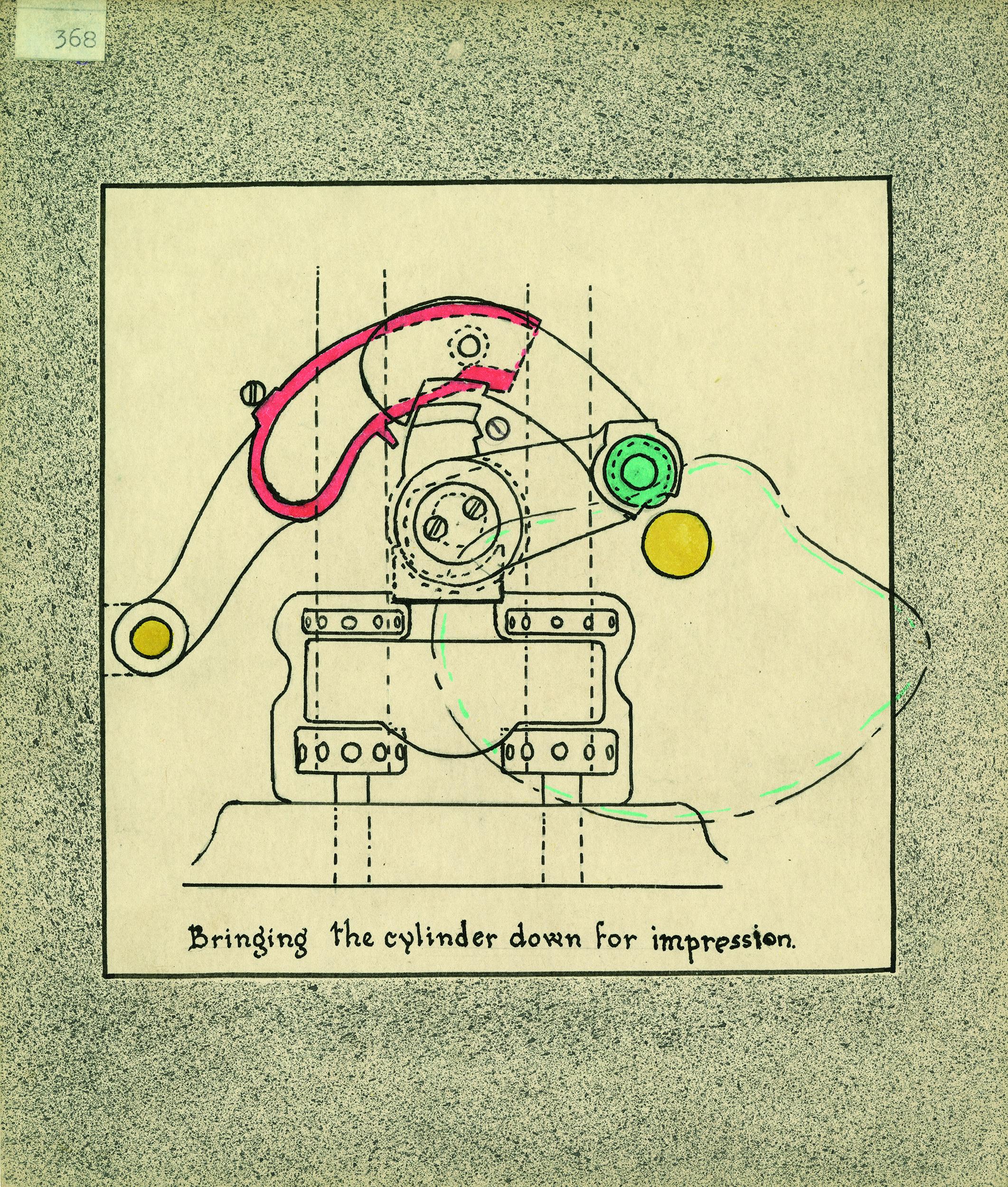 Printed diagram