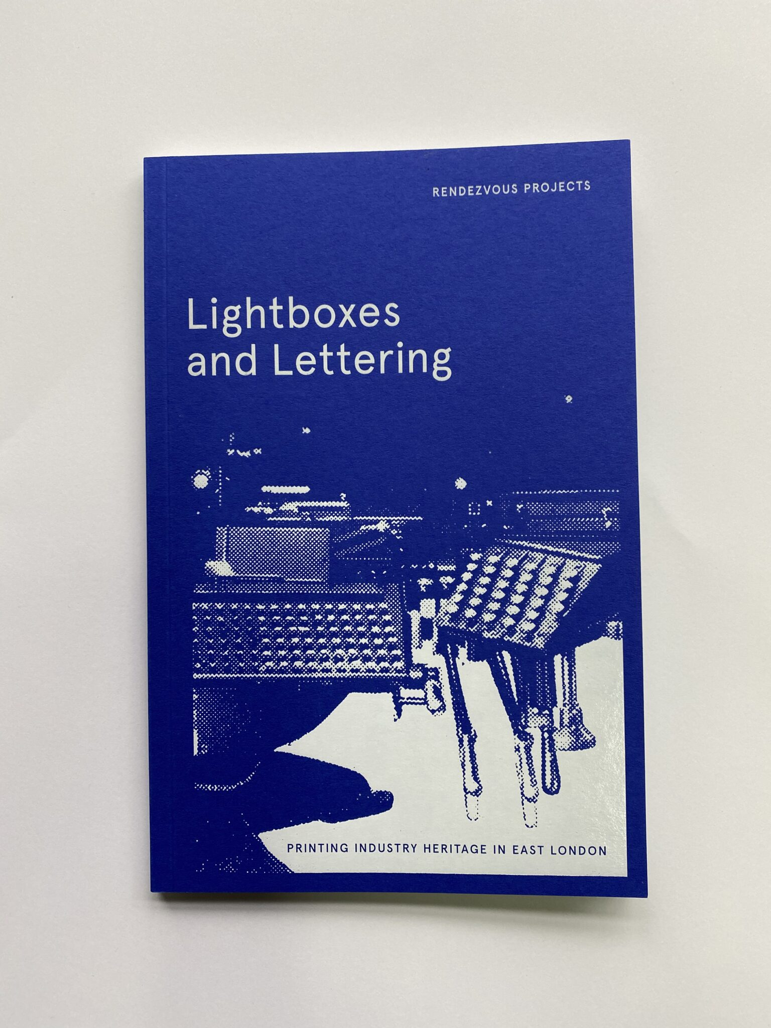 Lightboxes and Lettering exhibition booklet